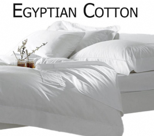 WHITE COLOUR LUXURY 200 THREAD COUNT EGYPTIAN COTTON BEDDING & BEDLINEN RANGE